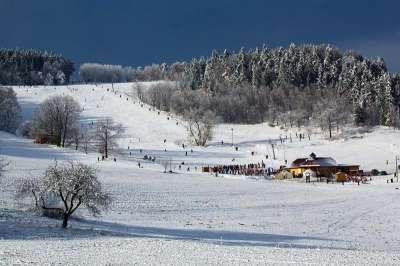Ski areál Olešnice foto