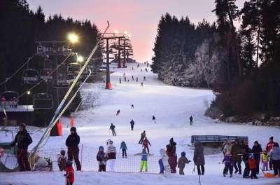 Ski areál Luka nad Jihlavou foto