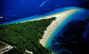 Pláž Zlatý Roh foto