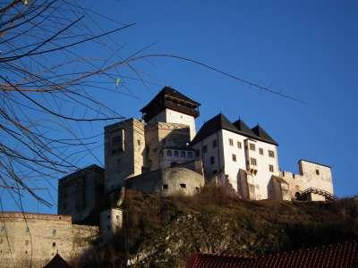 Trenčianský hrad foto