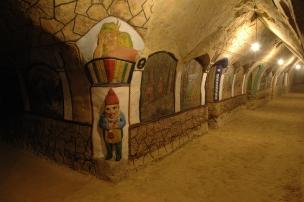 Malovaný sklípek v Šatově foto