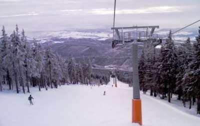 Skiareál Janské Lázně foto