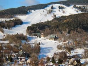 Ski areál Studenov foto