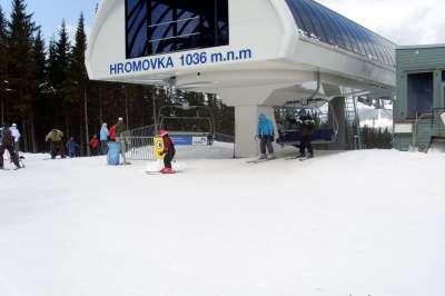 Skiareál Hromovka foto