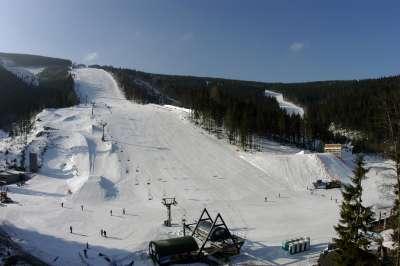 Ski areál Svatý Petr foto