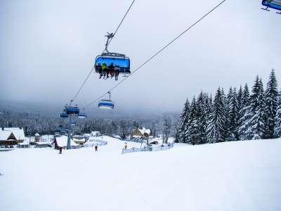 Zieleniec Ski Area foto