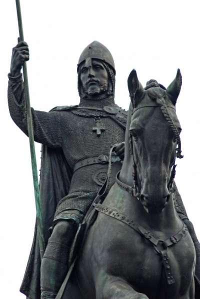 Pomník svatého Václava foto