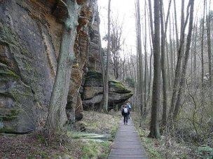 Národní přírodní památka Peklo foto