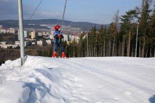 Ski areál Padák Příbram foto
