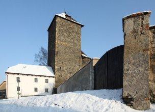 Hrad Týnec nad Sázavou foto