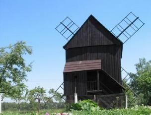 Červekův  větrný mlýn foto