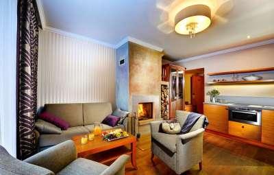 Dvoulůžkový apartmán Deluxe