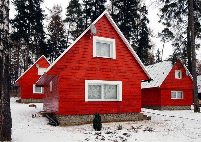 Chatky Tatry Holiday v zimním období