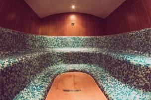 Parní solná sauna