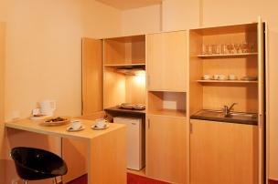 Apartmán - kuchyňský kout