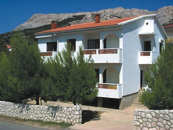 Příklad ubytování vila Čubranić