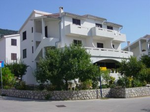 Příklad ubytování vila Dordić