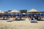 Pláž v Silvi Marina