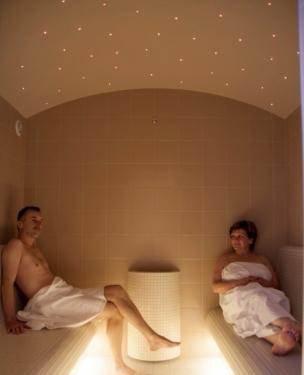 Bylinná parní sauna