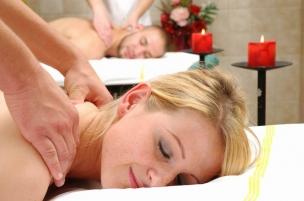 Romantická masáž pro dva
