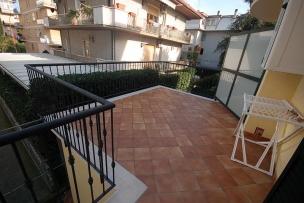 Výhled ze čtyřlůžkového apartmánu BILO