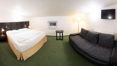 Ložnice v apartmánu 607 pro 7 osob (5 + 2 přistýlky)