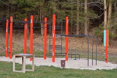 Workout hřiště