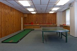 Stůl pro ping pong a minigolf