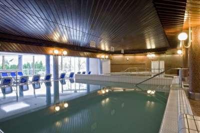 Vnitřní termální bazény