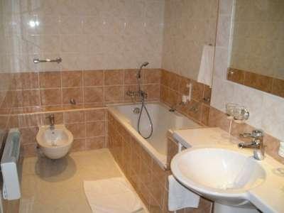 Koupelna v Apartmánu DE Luxe
