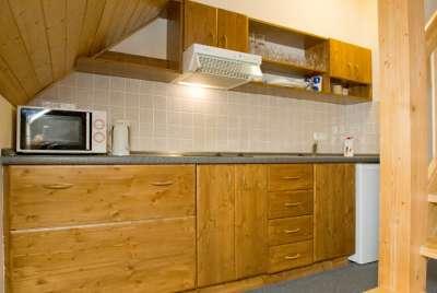 Kuchyňka v apartmá