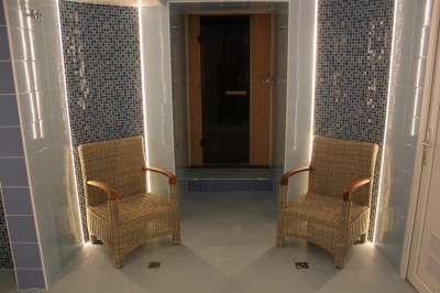 Relaxační místnost ve wellness