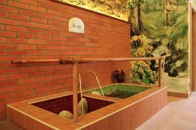 Kneippova koupel v Šumavských lázních