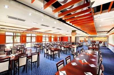 Restaurace v areálu GINO PARADISE