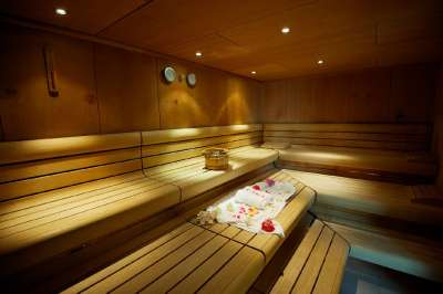 Aquasziget wellness sauna