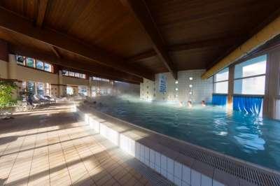 Vnitřní termální bazén