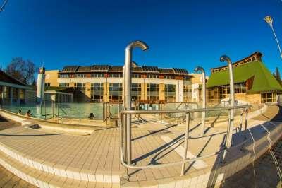 Lázně Harkány - venkovní bazény