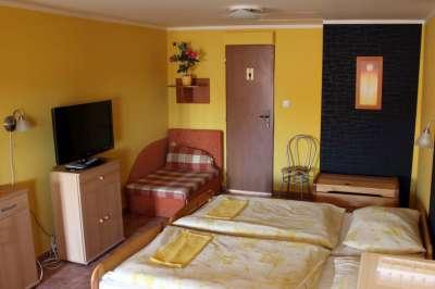 Dvoulůžkový pokoj s možností přistýlky