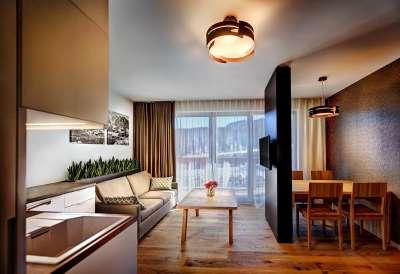 Apartmány Modern se dvěma ložnicí