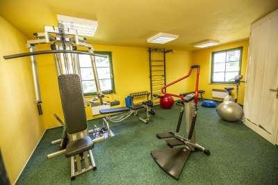 Fitness v hotelu Na Jezeře