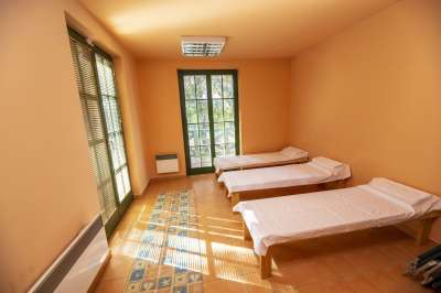 Masážní místnost v hotelu Na Jezeře