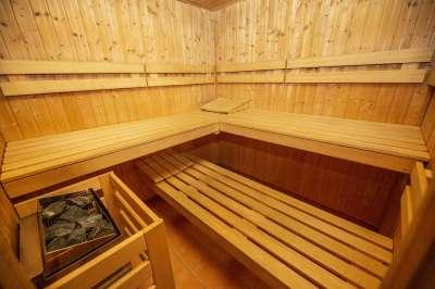 Sauna v hotelu Na Jezeře