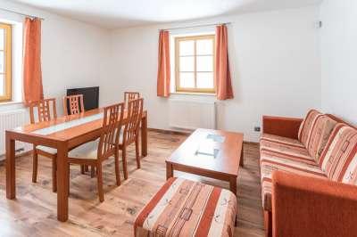 Apartmán pro 6 osob se dvěma ložnicemi č. 1