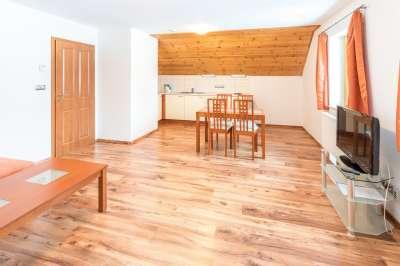 Apartmán pro 7 osob se dvěma ložnicemi č. 5