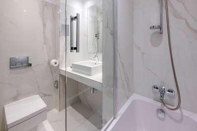 koupelna v pokoji standard