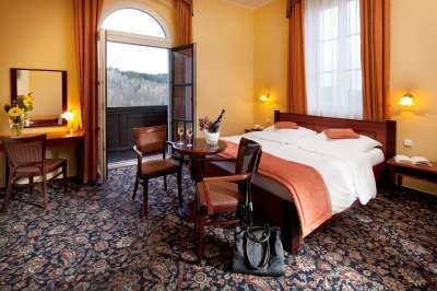 Dvoulůžkový pokoj De Luxe