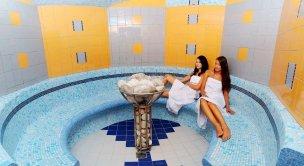 Solná parní sauna