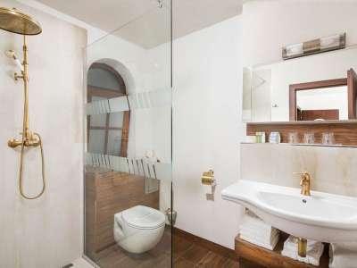 Koupelna v domečku Pod věží