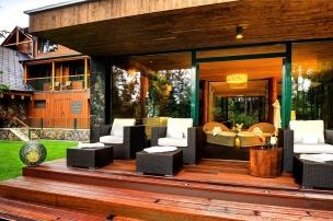 Venkovní relaxační zóna