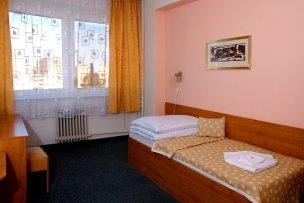 Jednolůžkový pokoj v hotelu 3*